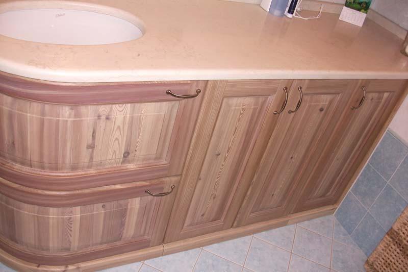 Falegnameria l 39 antacurva mobili artigianali - Sottolavello bagno ...
